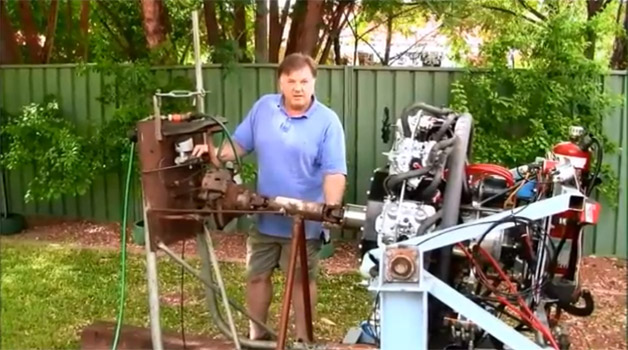 Russell Sutton Radial Engine