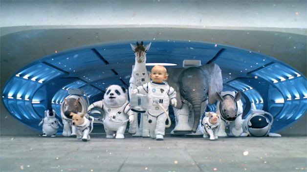 Kia Space Babies commercial