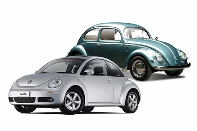 VW Beetle old and new