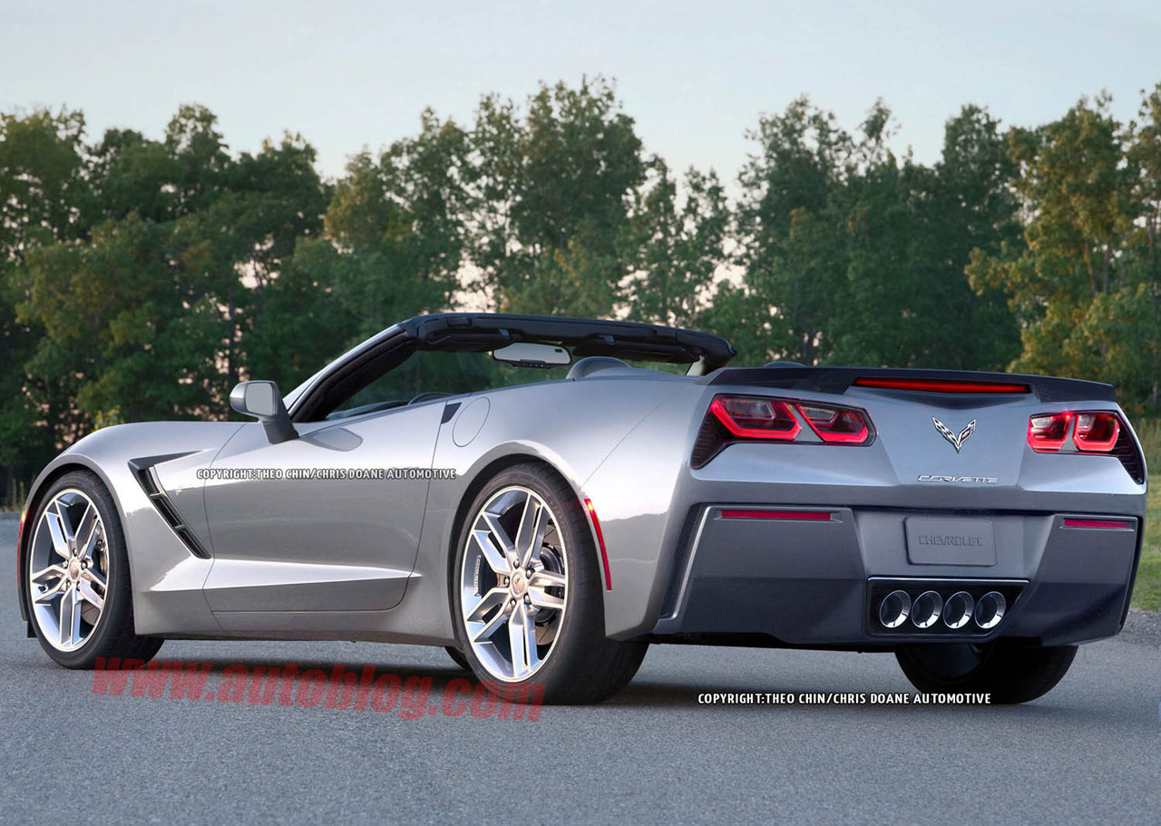 2014 chevrolet corvette stingray convertible renderings photos