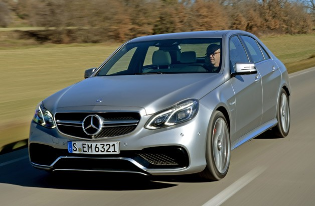 2014 Mercedes-Benz E63 AMG S 4Matic - on the road, at speed