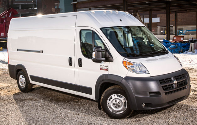 2014 Ram Promaster reporting for duty