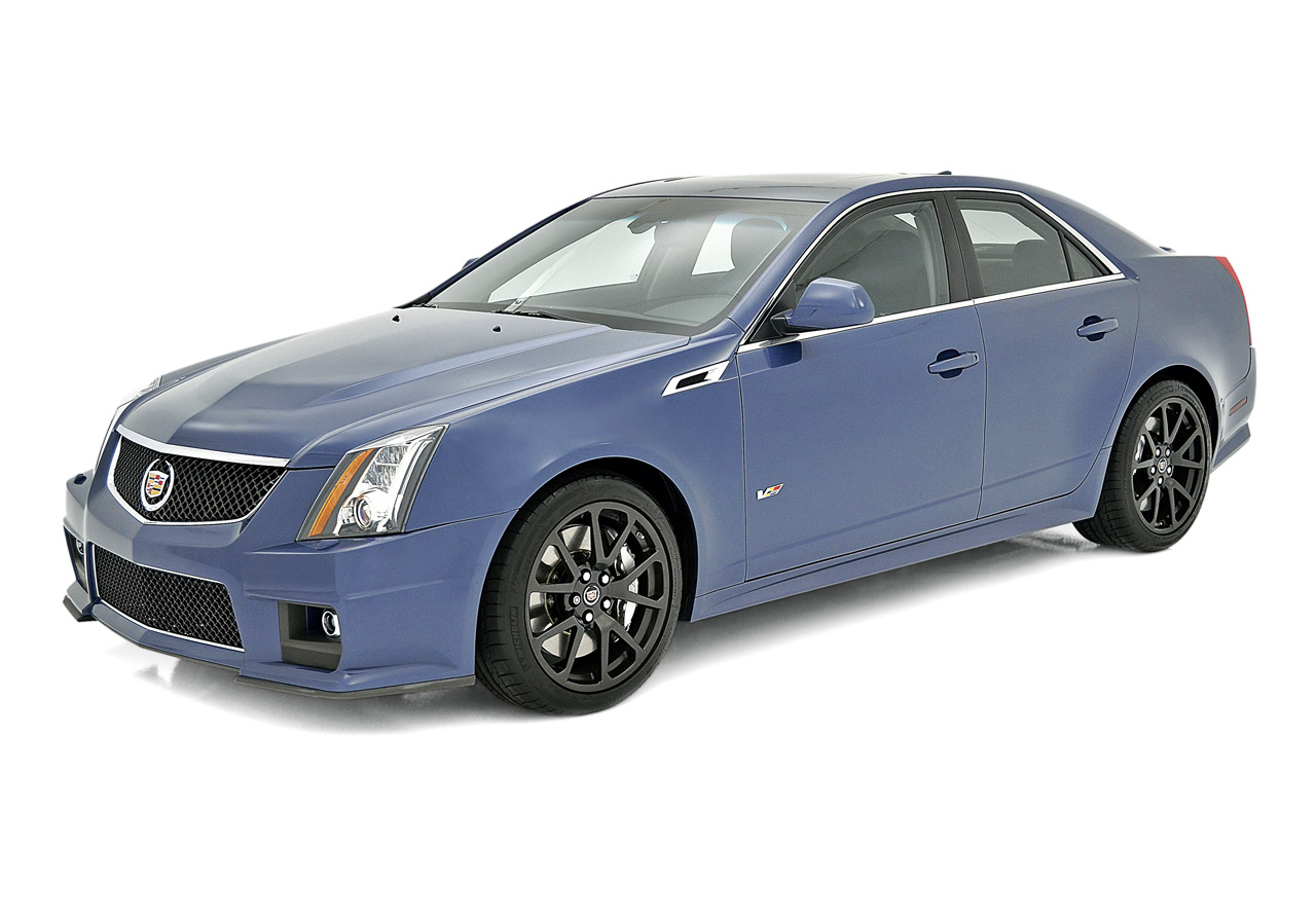 Pre Owned Cadillac Cts V Cadillac CTS-V gets Stealth Blue and Silver Frost limited edition ...