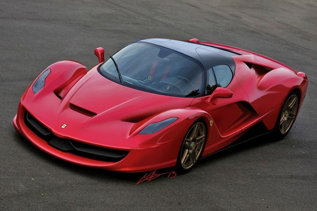 Ferrari F150 Enzo successor renderings Josiah LaColla