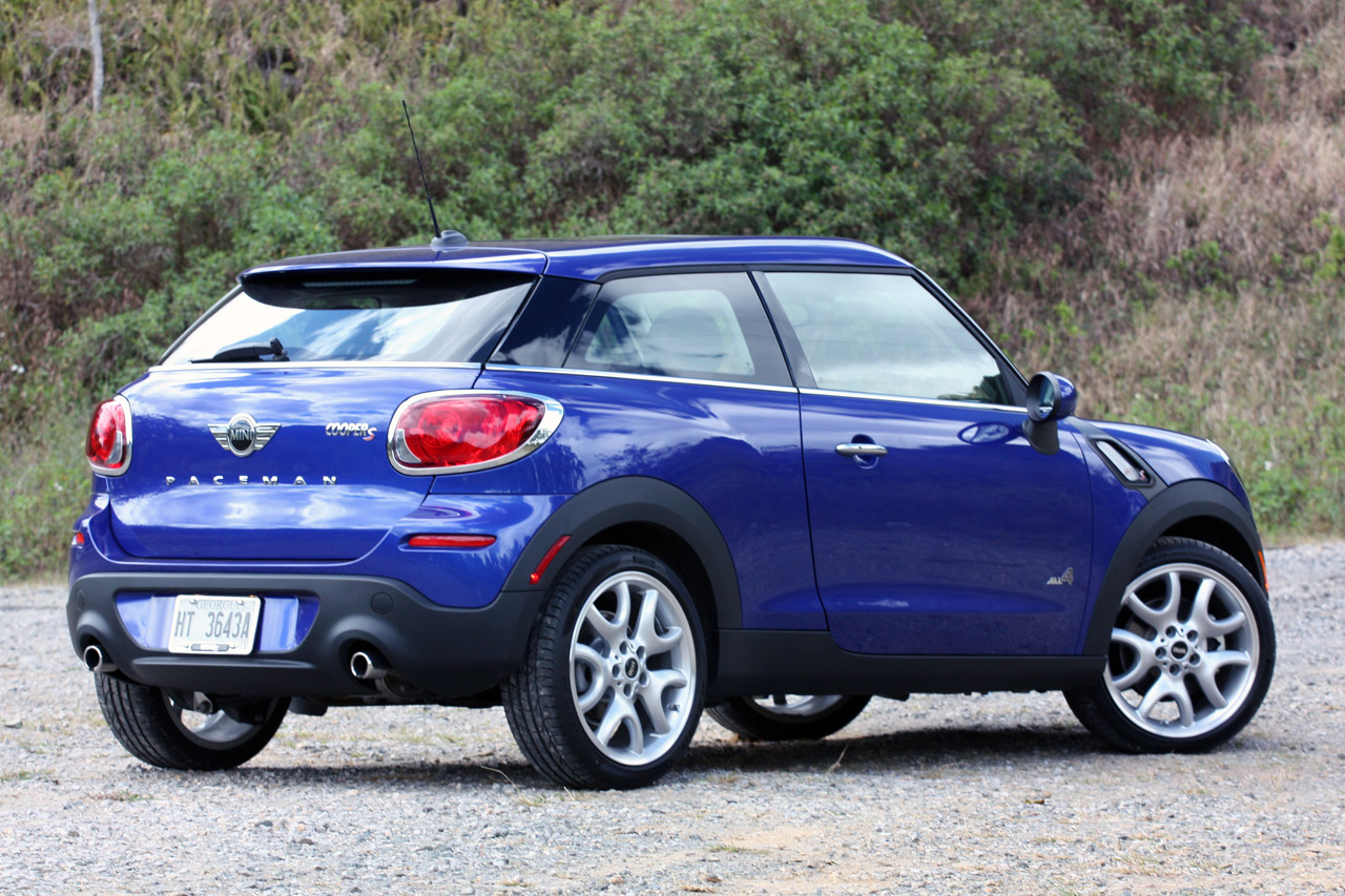 2013 Mini Cooper S Paceman All4 Quick Spin Photo Gallery