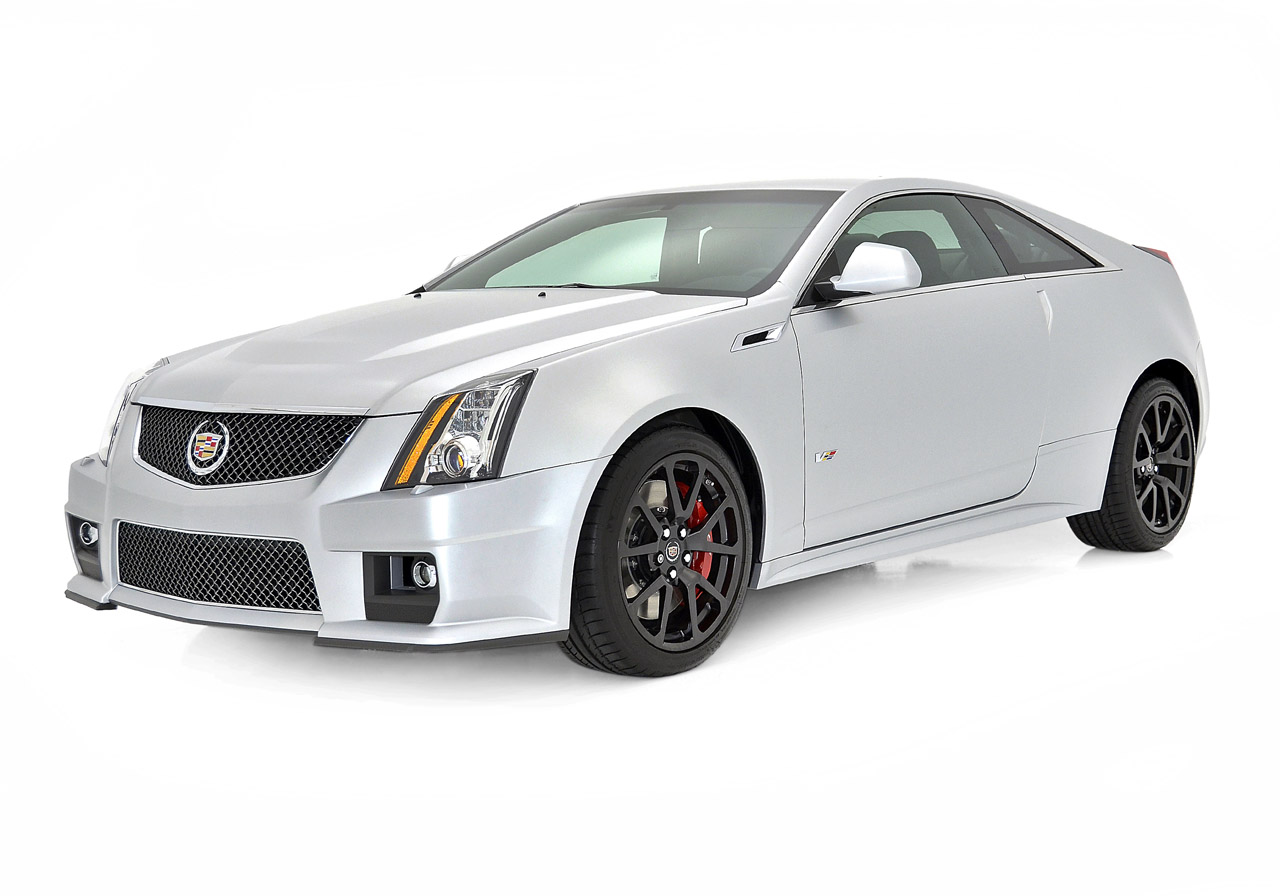 cadillac cts v coupe silver frost photo gallery autoblog. Black Bedroom Furniture Sets. Home Design Ideas