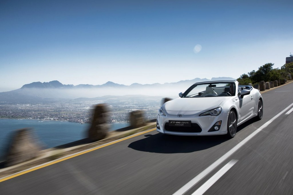 Toyota GT86 turbo  convertible  sedan variants back on the table