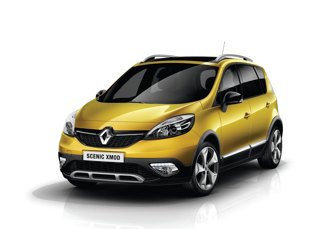 renault sc nic minivan crosses over with new xmod variant autoblog. Black Bedroom Furniture Sets. Home Design Ideas