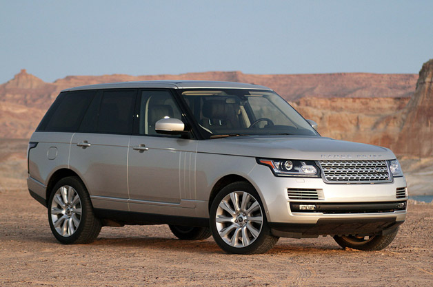 2013 Land Rover Range Rover - front three-quarter view