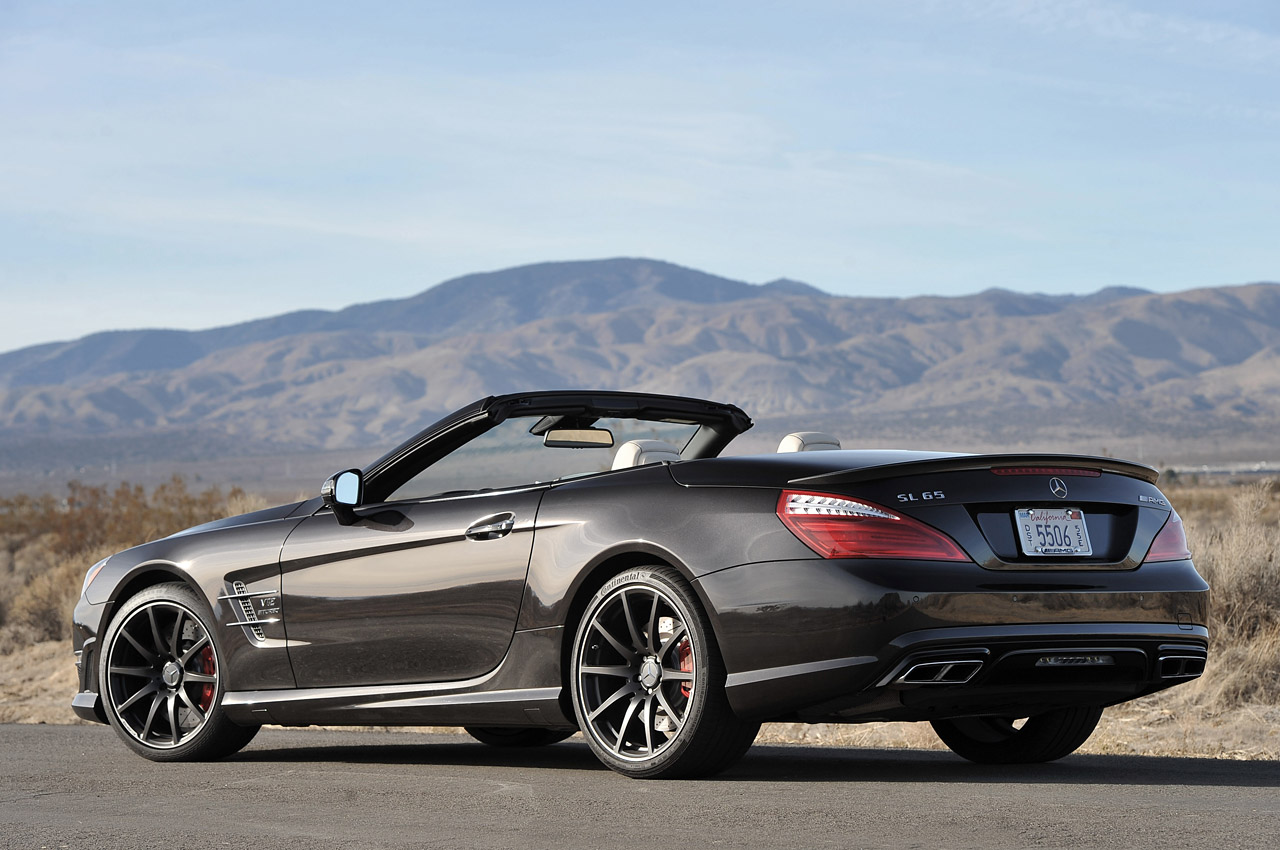 2013 mercedes benz sl65 amg autoblog for Mercedes benz e amg