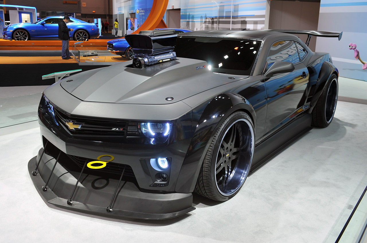 Quot Turbo Quot Chevrolet Camaro Is A 700 Hp Fantasy Car Come To