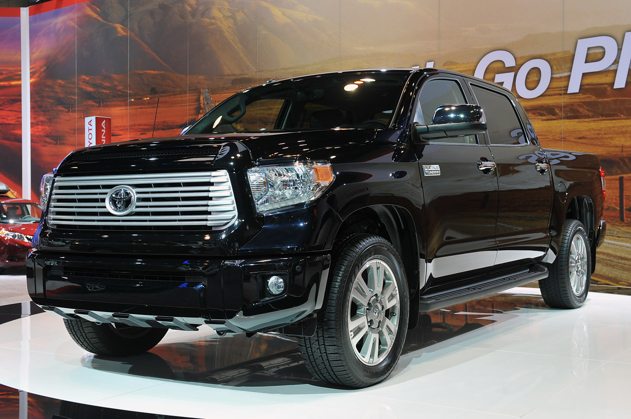 2014 Toyota Tundra appears with revised styling, same mechanicals - Autoblog