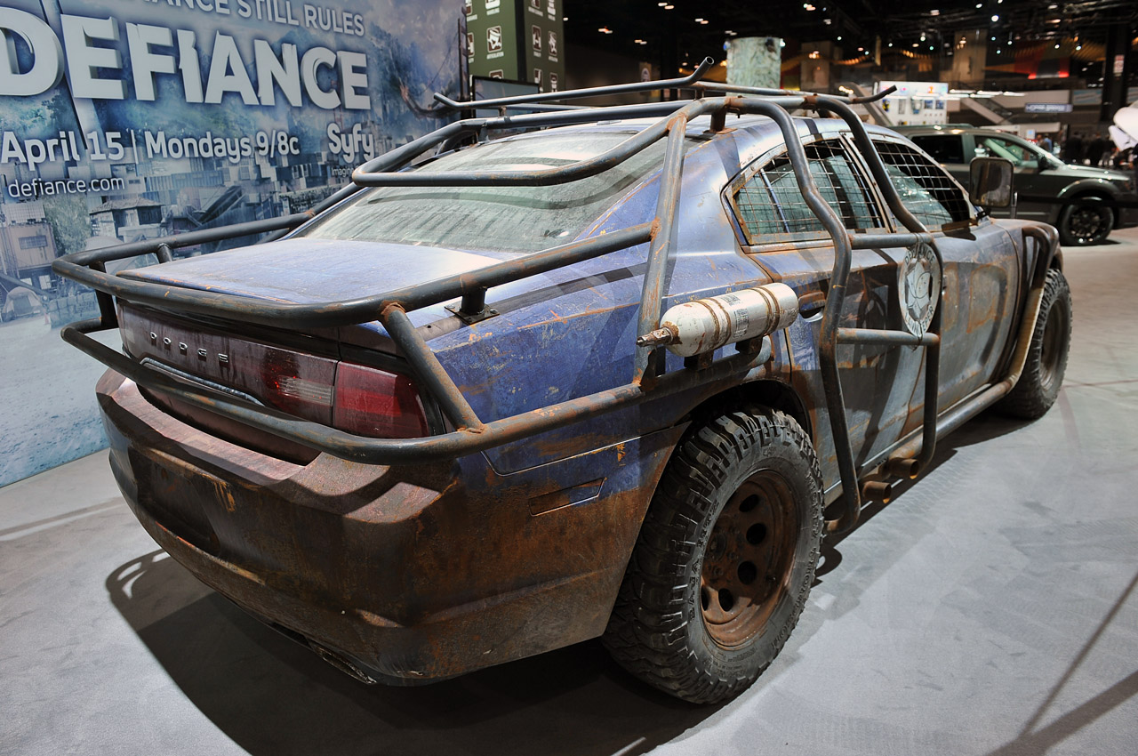 Defiance Dodge Charger Saving Earth From Aliens Isn T