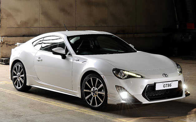 Toyota GT86 gets TRD treatment in UK