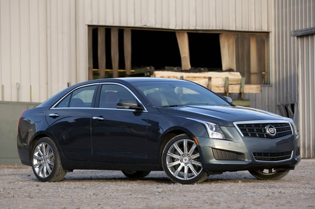 2013 Cadillac ATS 3.6 AWD - front three-quarter view