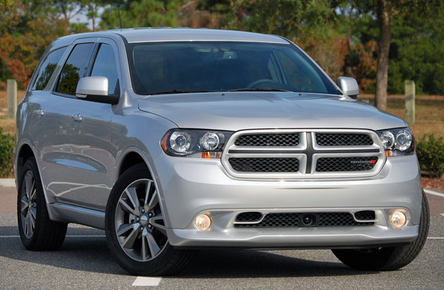 2013 Dodge Durango R/T - front three-quarter view