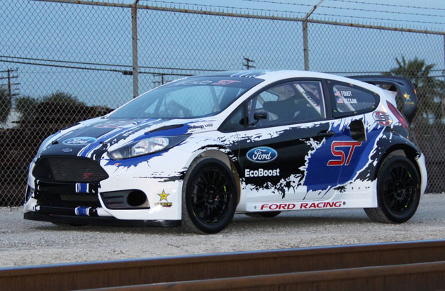 2014 Ford Fiesta ST race car - front three-quarter view