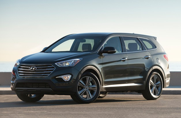 Hyundai prices three-row Santa Fe from $28,350*