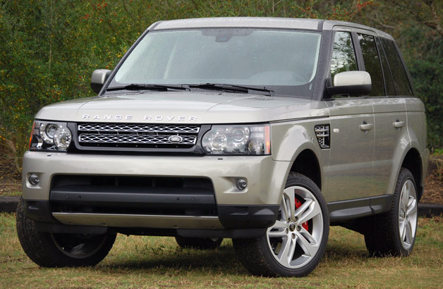 2013 Land Rover Range Rover Sport - front three-quarter view