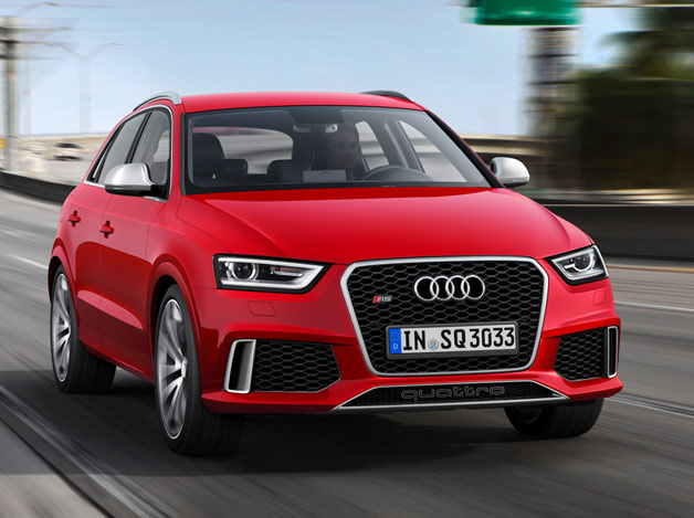 2014 Audi RS Q3 breaks out ahead of Geneva reveal