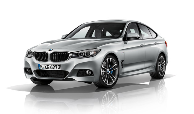 2014 BMW 3 Series Gran Turismo - front three-quarter view with sport pack