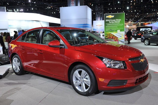 Related Gallery 2014 Chevrolet Cruze Diesel: Chicago 2013