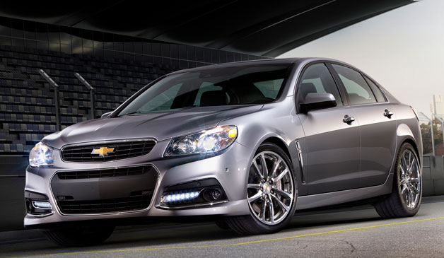 2014 Chevrolet SS - front three-quarter view