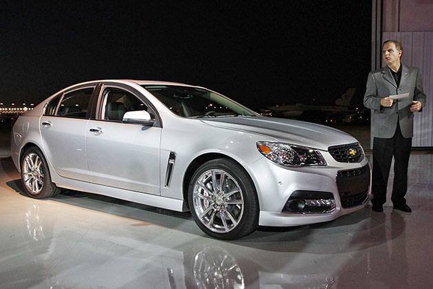 2014 Chevrolet SS makes its live debut