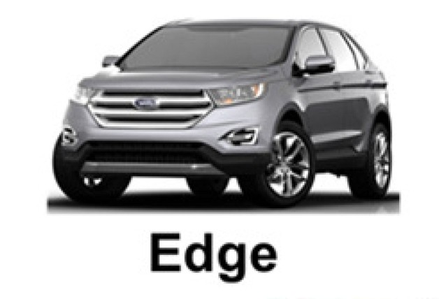 2015 Ford Edge - leaked pixelated image