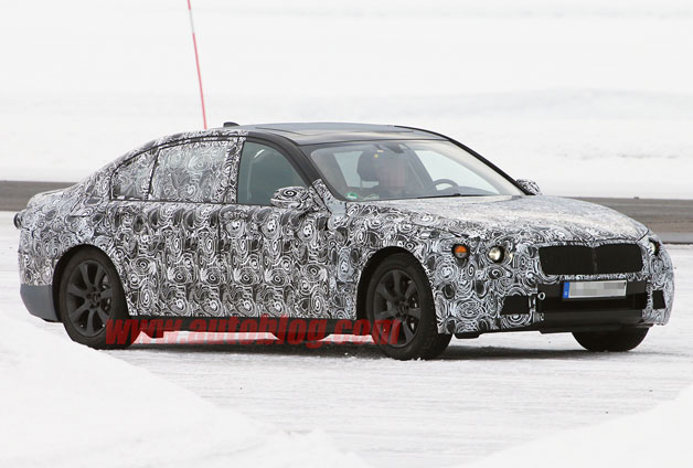 2016 BMW 7 Series - spy shot, disguised