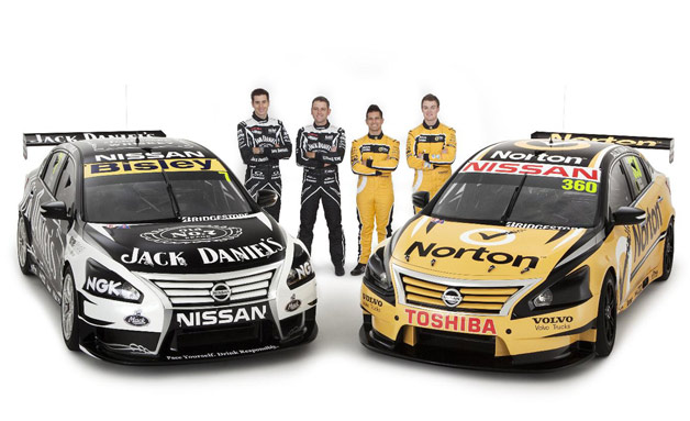 2013 Nissan Altima V8 Supercars with drivers