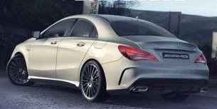 PS4 game DriveClub - screencap of Mercedes CLA AMG