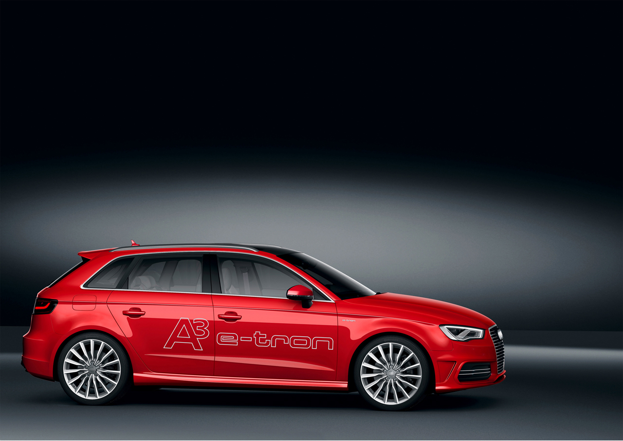 audi a3 e tron plug in hybrid set to whiz into geneva. Black Bedroom Furniture Sets. Home Design Ideas