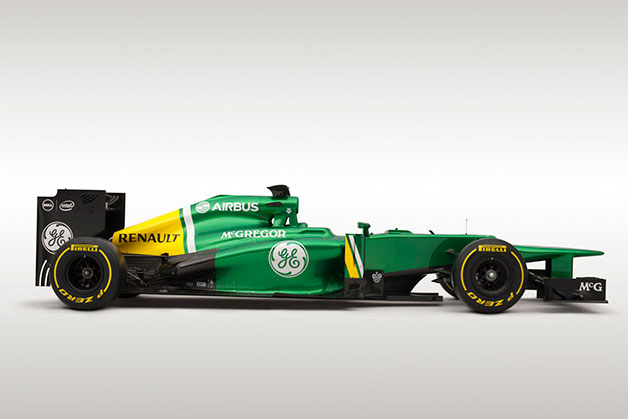 Caterham CT03 F1 race car - profile image