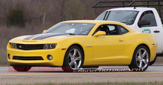 Refreshed 2014 Camaro confirmed for New York debut