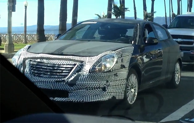 Chrysler 100 hatchback caught cruising around Santa Monica