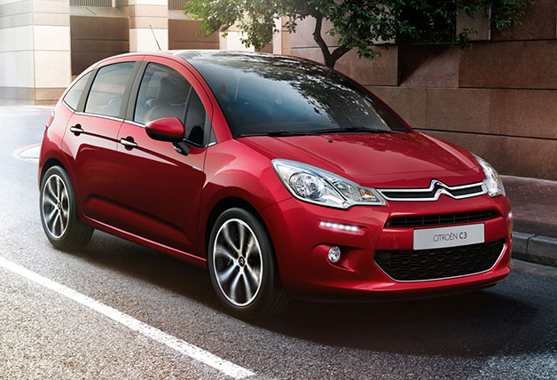 Citroën prepping updated C3 for Geneva