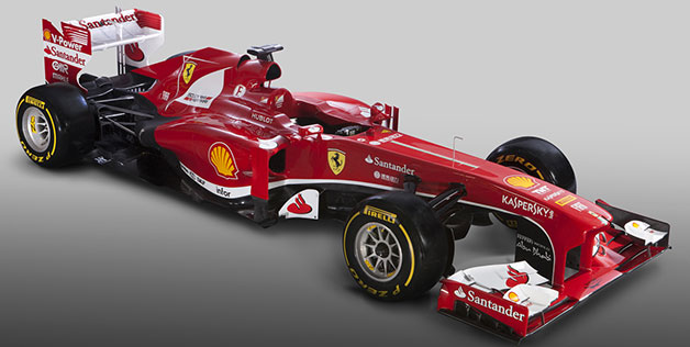 Scuderia Ferrari F138 denounced in Maranello