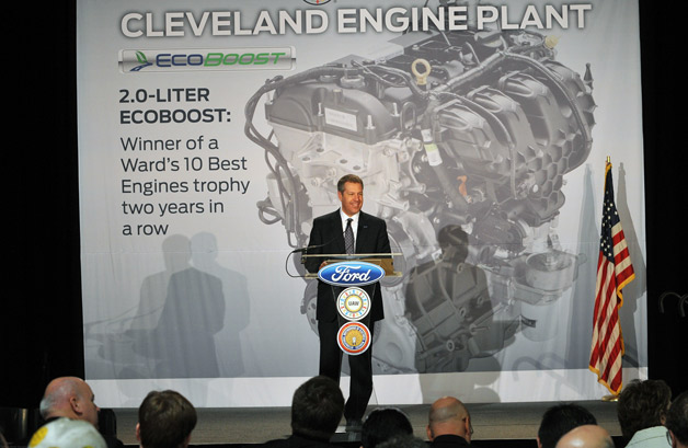 Ford announces 2.0-liter EcoBoost engine production in Cleveland