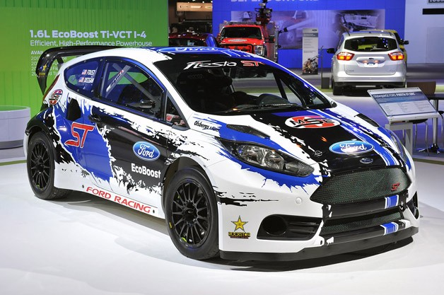 Ford Fiesta ST GRC Racecar
