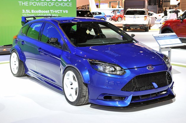Ken block fifteen52 team up to build awesome ford focus