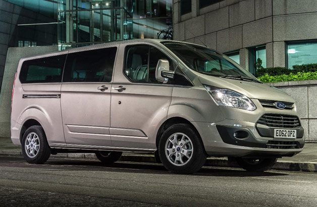 New Ford Tourneo - front three-quarter view