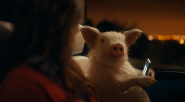 Maxwell the Pig, Geico ad screencap