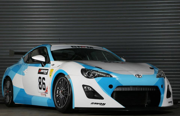 GPRM Toyota GT86 GT4 Race Car - front three-quarter view