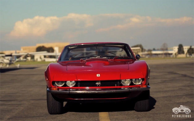 Iso Grifo on Petrolicious - video screencap
