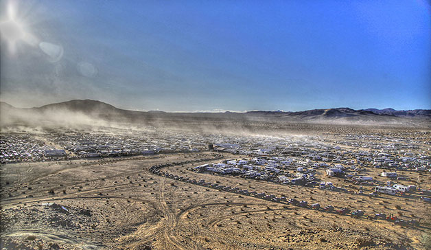 King of the Hammers 2013 overhead view