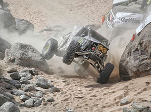 King of the Hammers 2013 - buggy on two wheels