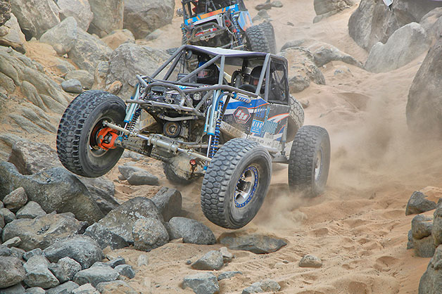 King of the Hammers 2013 - rock climbing buggy