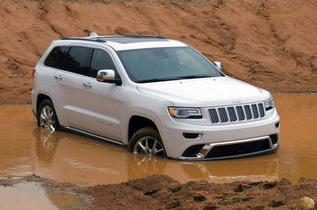 2014 Jeep Grand Cherokee EcoDiesel off-road