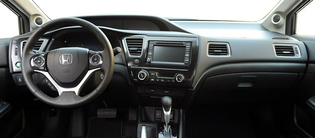 2013 Honda Civic interior
